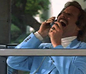 Don't write copy that's in a glass case of emotion.