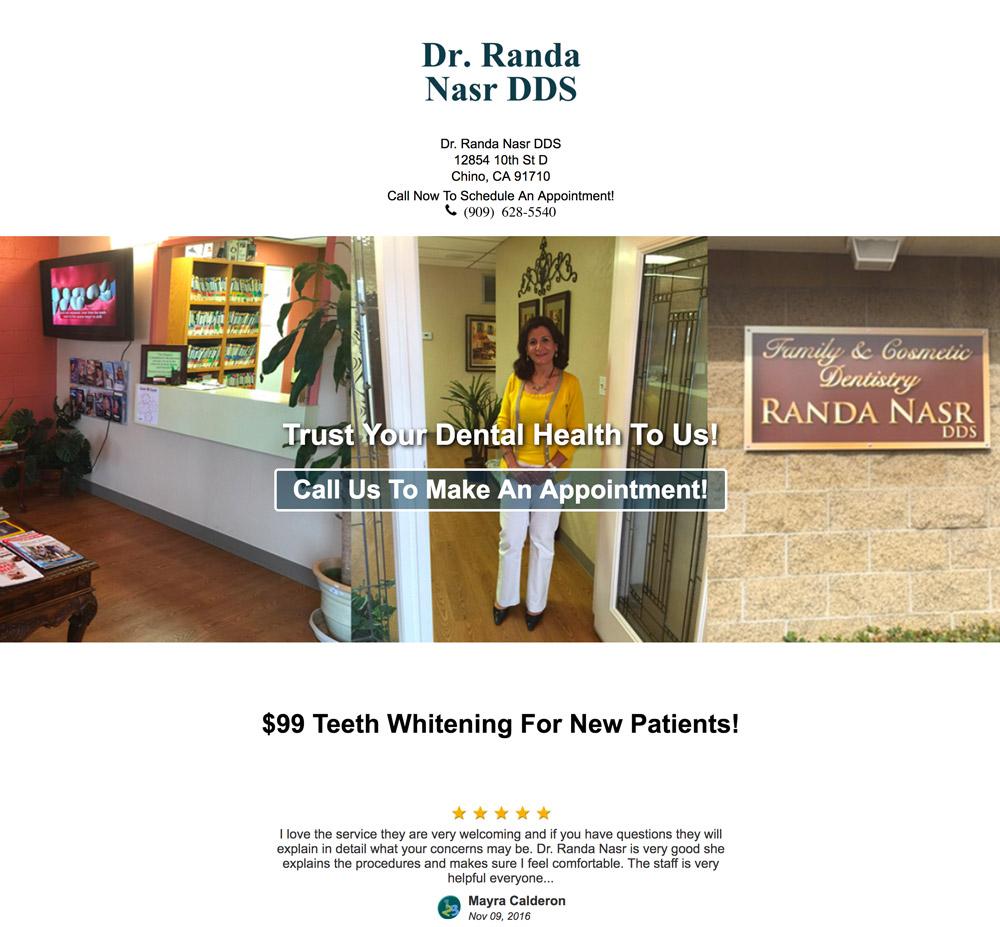"""""""Fast & Easy Teeth Whitening"""" ad copy"""