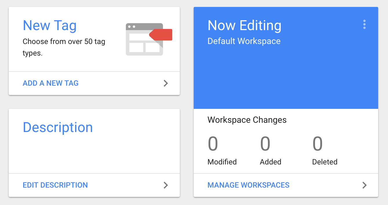 Create a new tag from your Google Tag Manager dashboard.