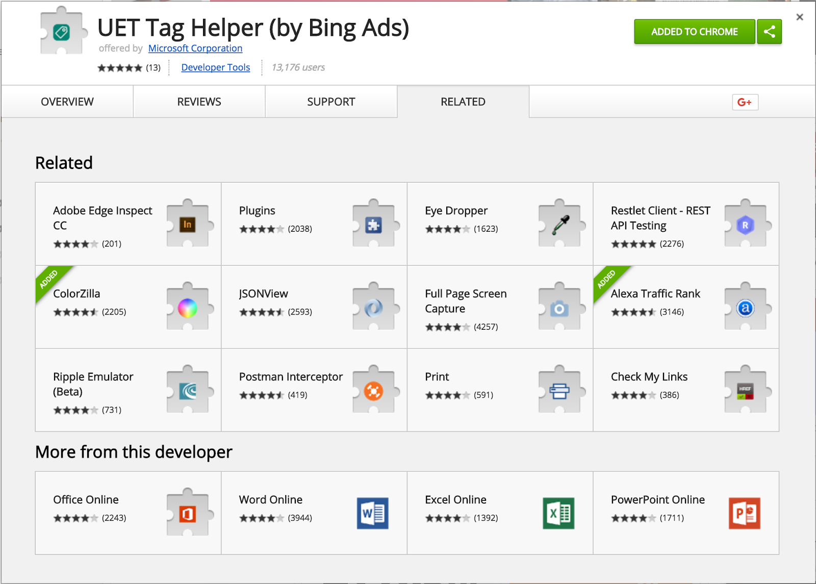 The UET Tag Helper Chrome extension for UET tag verification