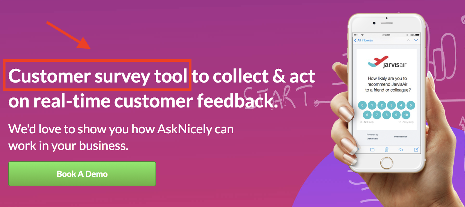 Make sure that the keywords you're inserting make sense with the sentence. It even works for Customer Survey Tool.