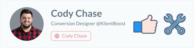 Cody Chase - Conversion Designer