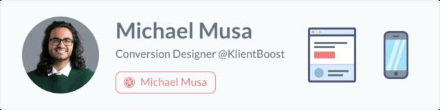 Michael Musa - Conversion Designer