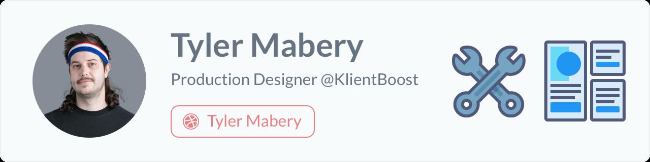 Tyler Mabery - Production Designer