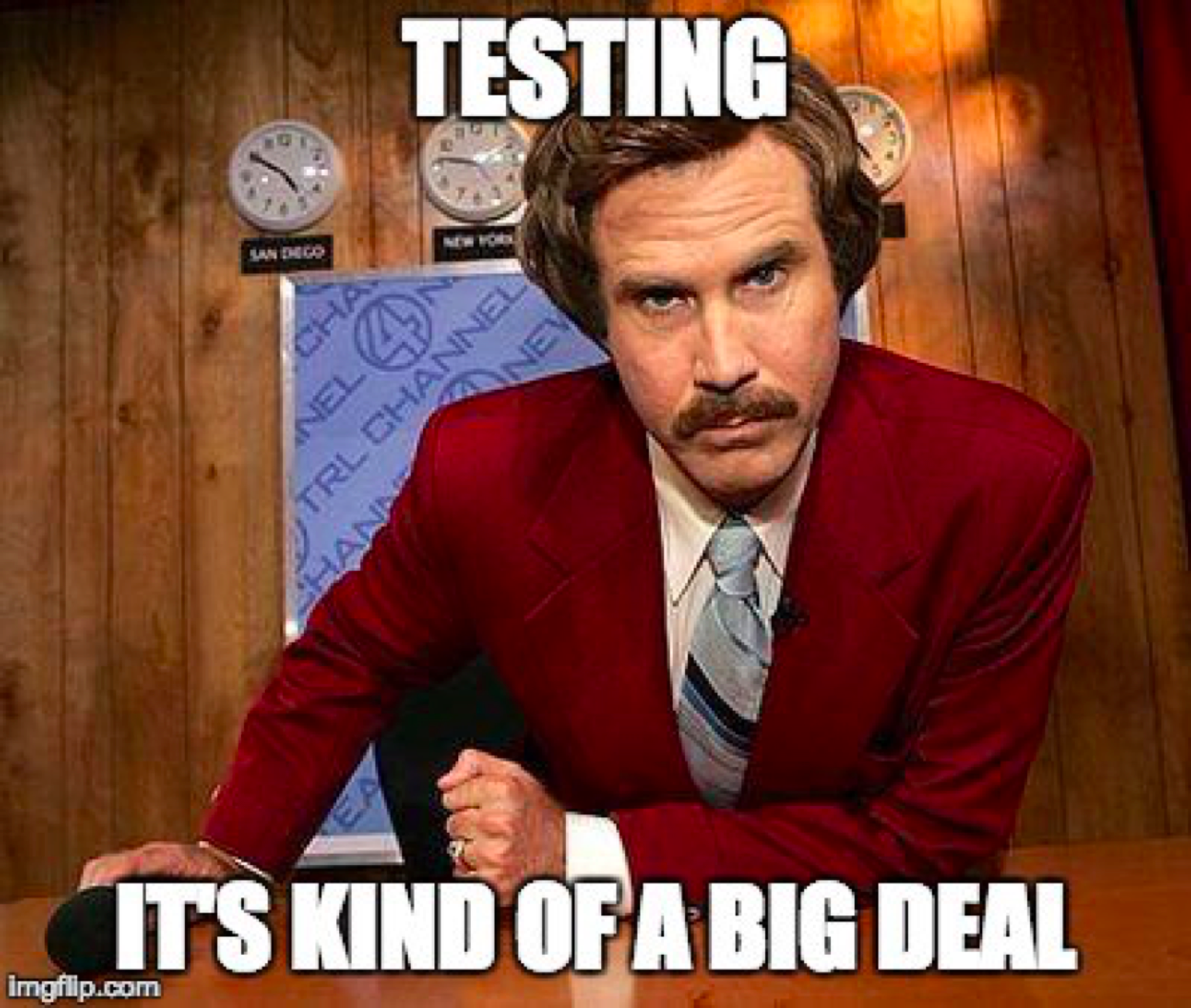 We're big fans of A/B testing.