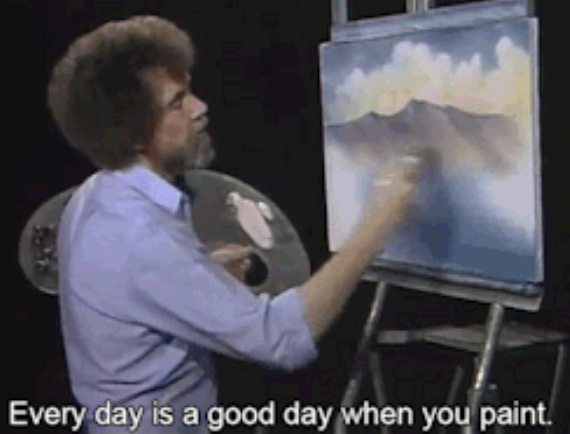 Painting a pretty picture