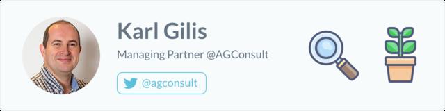 Karl Gilis, Managing Partner at AGConsult