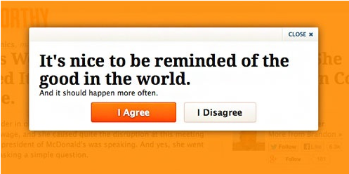 landing page best practices Only a cold-hearted soul would disagree.