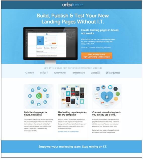 landing page best practices Pretty good, but wait…