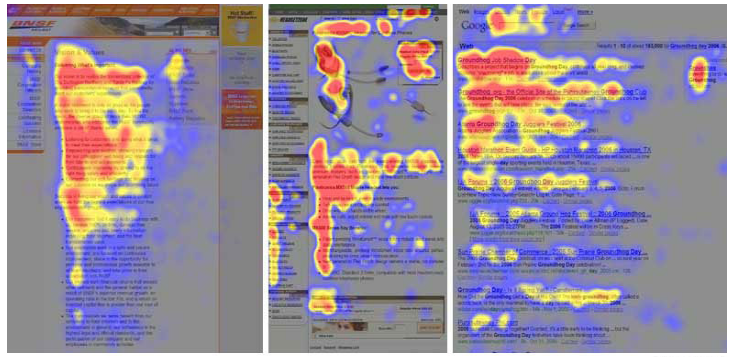 landing page best practices eye-tracking camera revealed.
