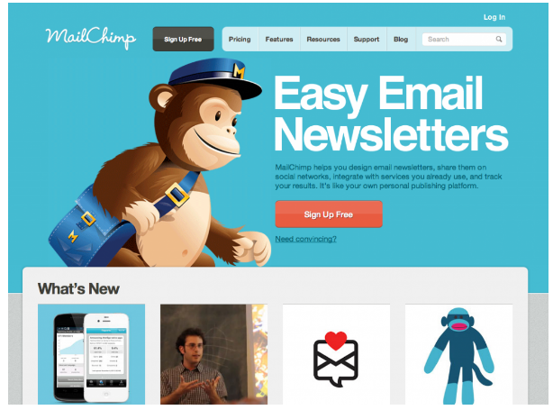 landing page best practices logo into an active mascot, so smart.
