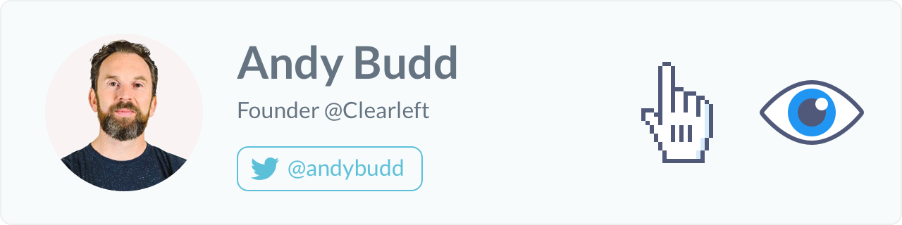 Andy Budd, Founder of Clearleft