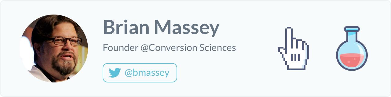 Brain Massey, Founder of Conversion Sciences