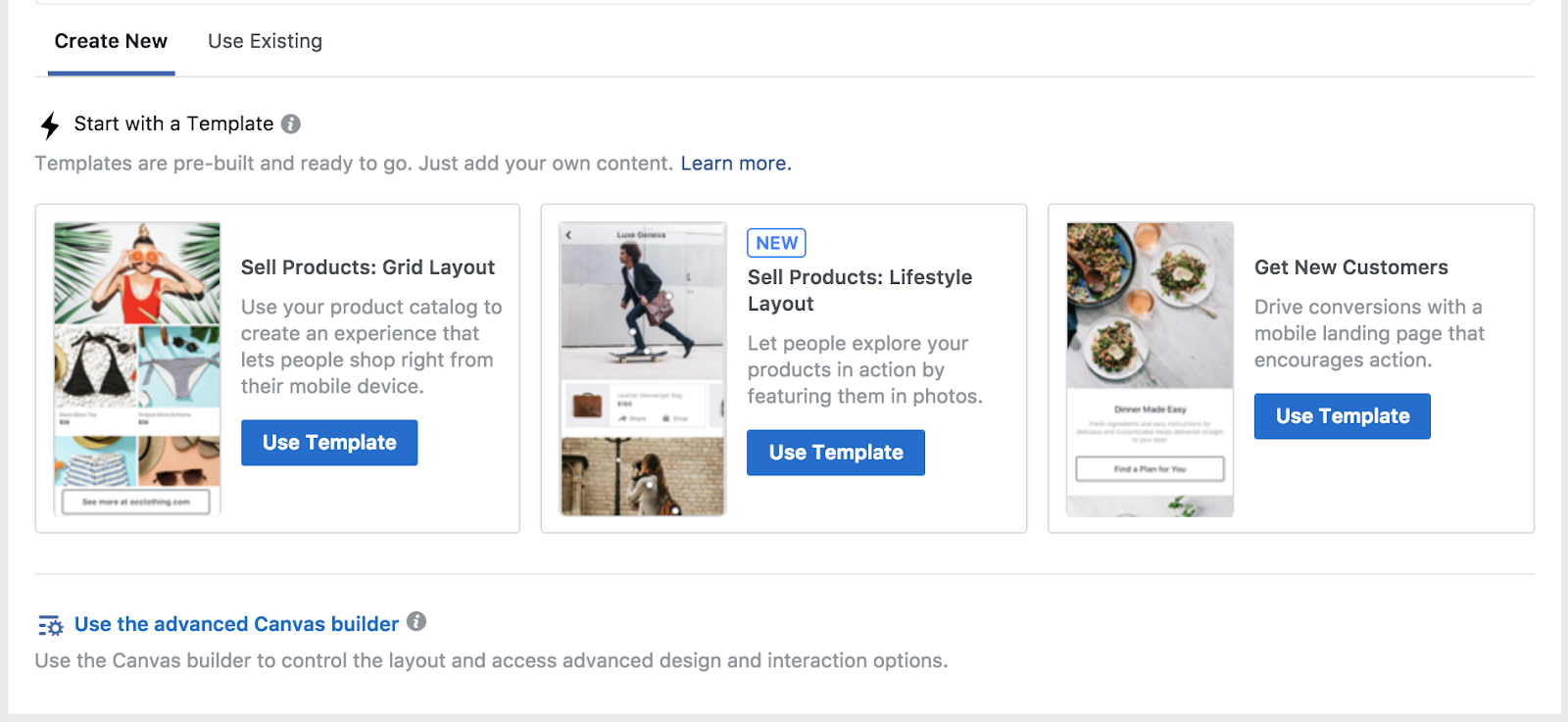 "Note the new ""Lifestyle Layout"" lets you promote multiple products in one lifestyle photo."