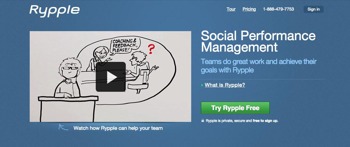 Rypple explainer video of their Social Performance Management system