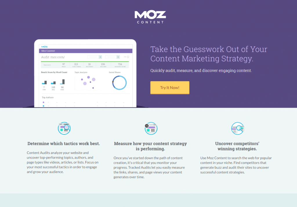 Leave it to MOZ to lead the charge in a digital marketing trend.