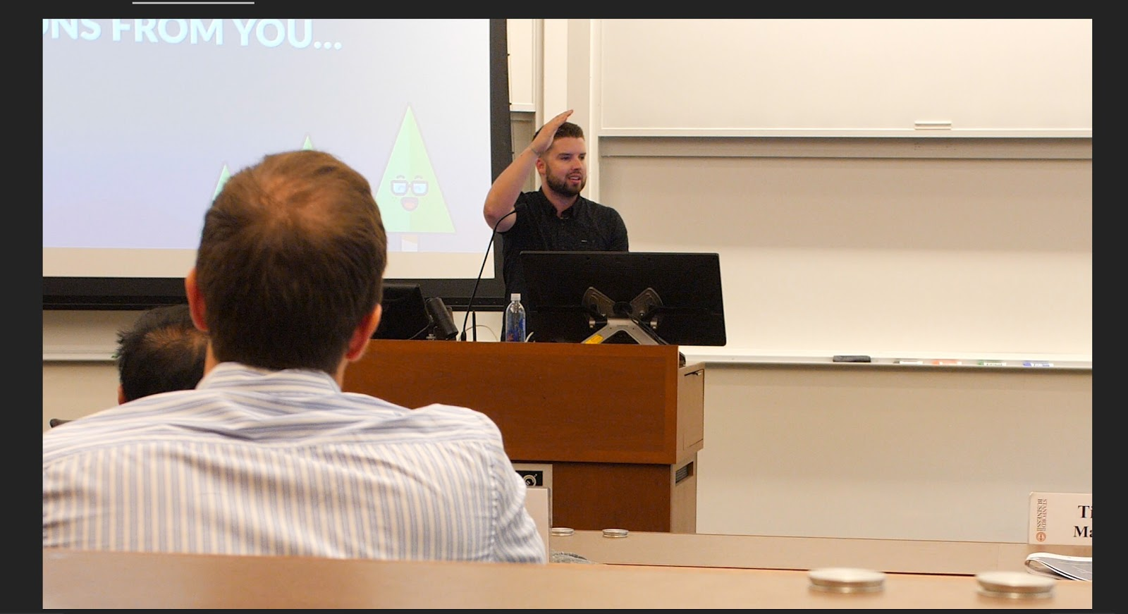 Here I am about to drop the beat around a PPC slide