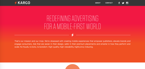 Custom fonts and colors assure that advertiser or sponsored content blends in with editorial.