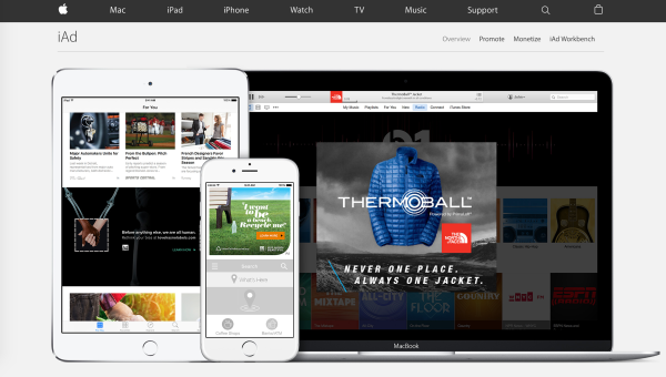 Apple Search Ads (formerly iAd) make it easy to promote your apps and advertise your offers