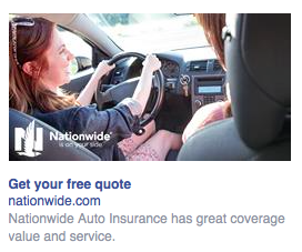 Nationwide's money would be better spent marketing another service to me.