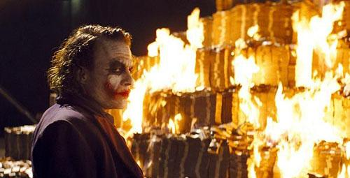Failure to meet GDPR compliance is like burning money like the Joker...