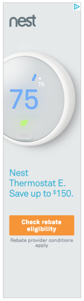 Nest banner ad example