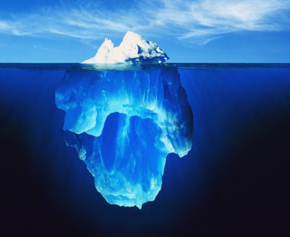 Grow with Digital Marketing iceberg