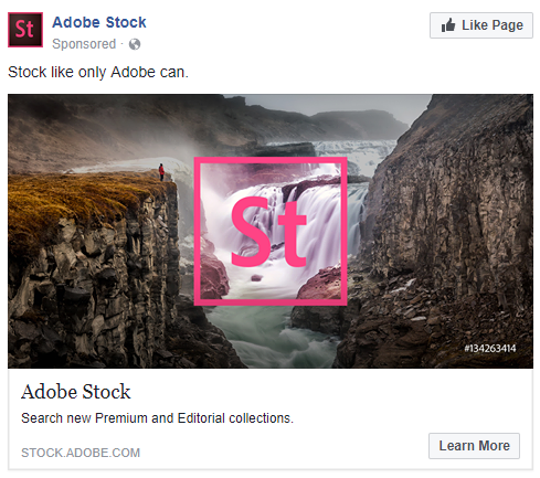 Adobe's ad takes stock photos in a different direction
