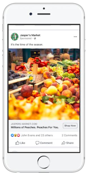 facebook ad type brand awareness image ad 2