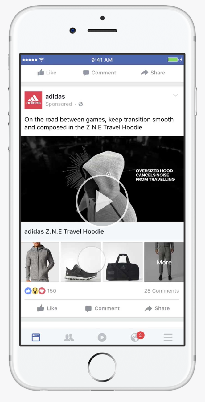 facebook ad type collection ad 2