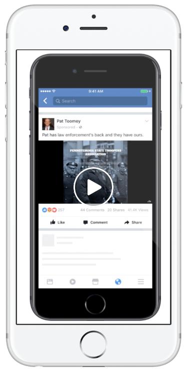 facebook ad type video ad 2