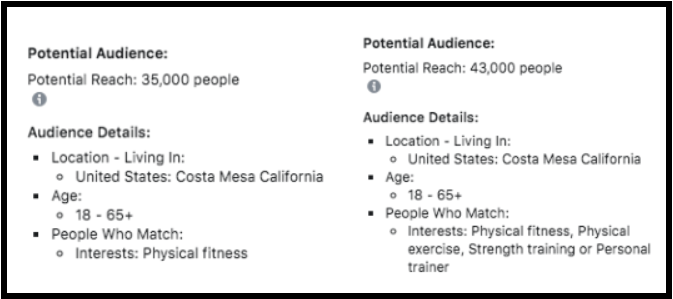 scaling facebook ads gym opening