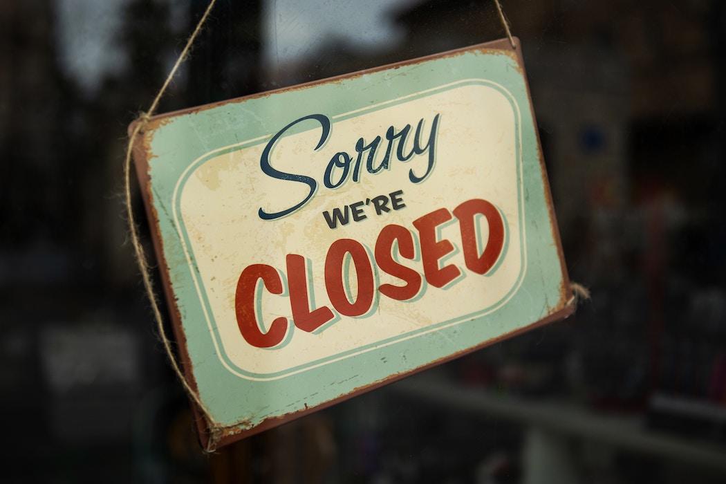geotargeting sorry were closed