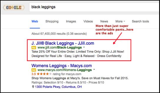 google rlsa example