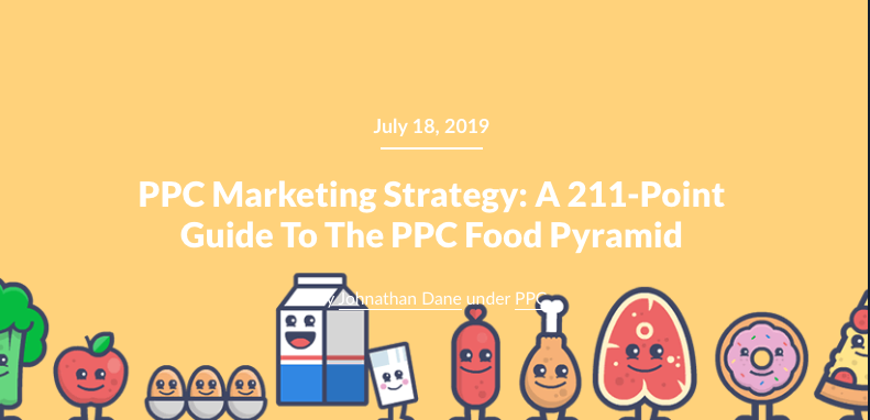 Featured image for a KlientBoost featured infographic blog post: 211 point guide to ppc strategies.