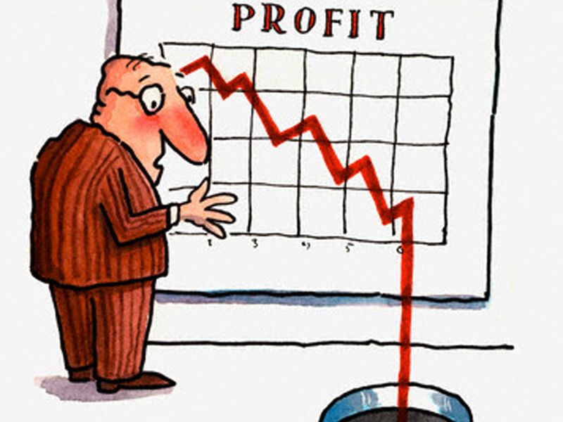 profit drop offs comic