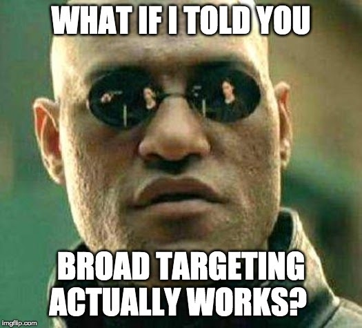 blog post image bottom feeding approach img1 - morpheus questions broad targeting