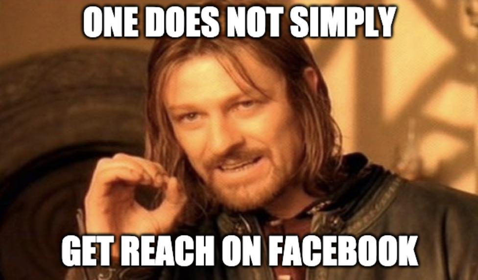 get reach on facebook