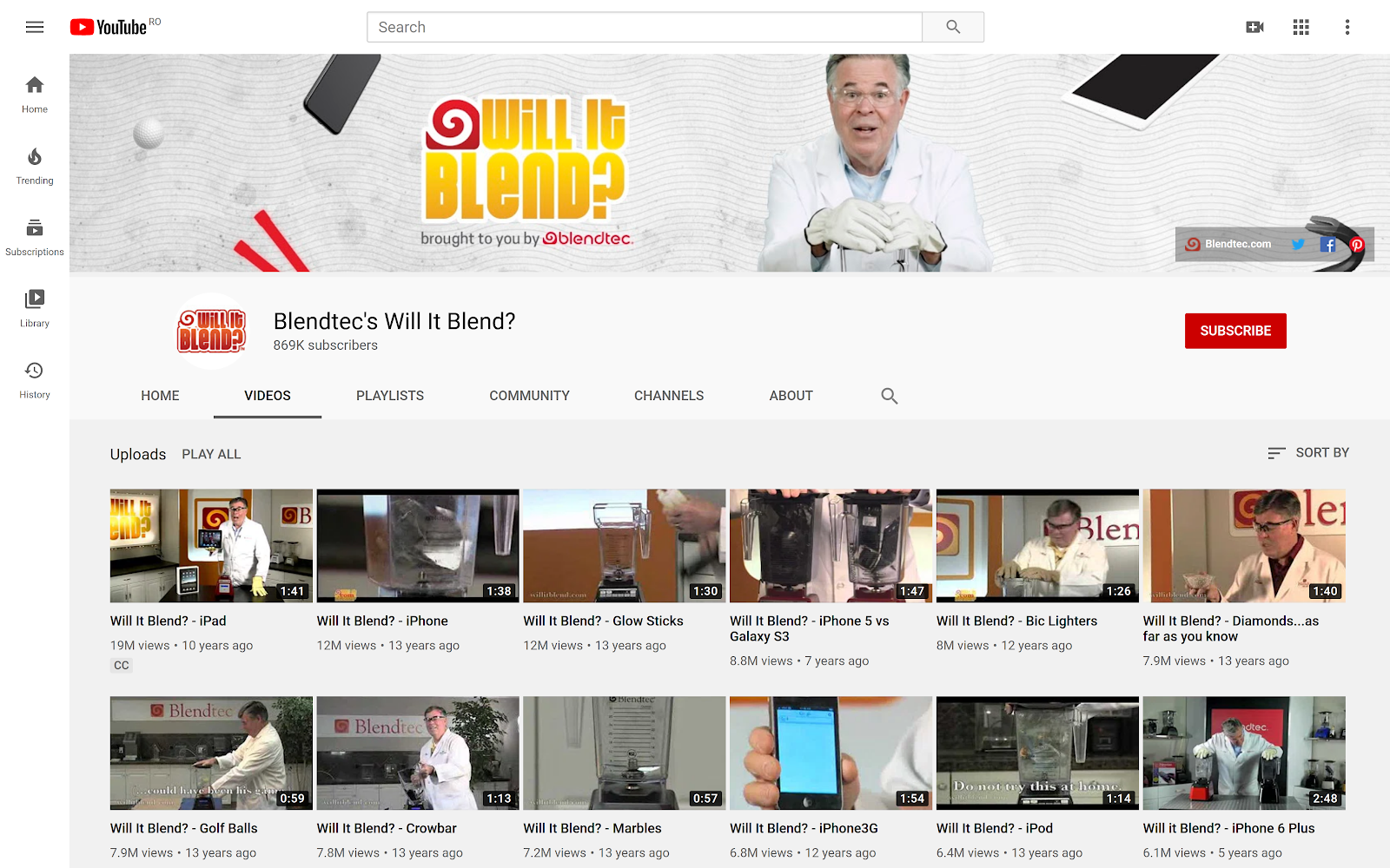 Will It Blend? Blendtec's Unique Approach to Video