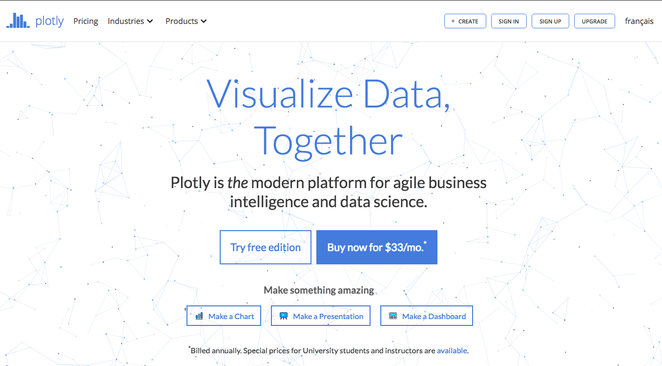 Plotly's Home Page