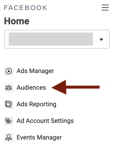 How to create new Custom Audience in Facebook