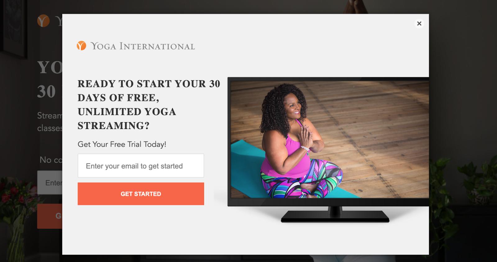 Yoga International Get Started CTA