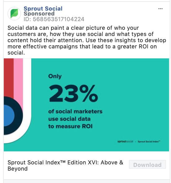Sprout Social Download CTA