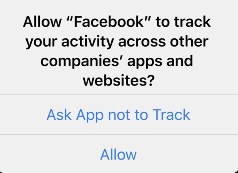 Apple's App Tracking Transparency Framework (ATTF)