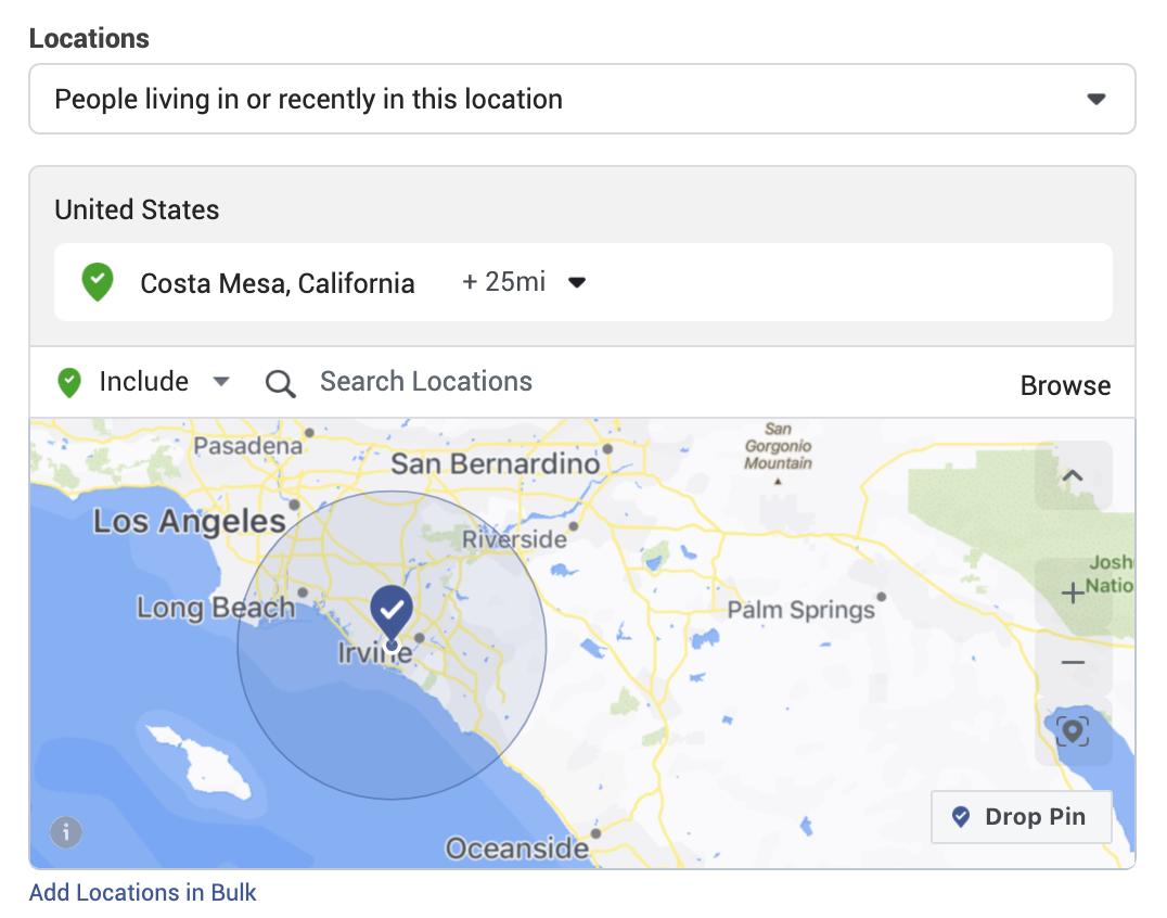 Location choices