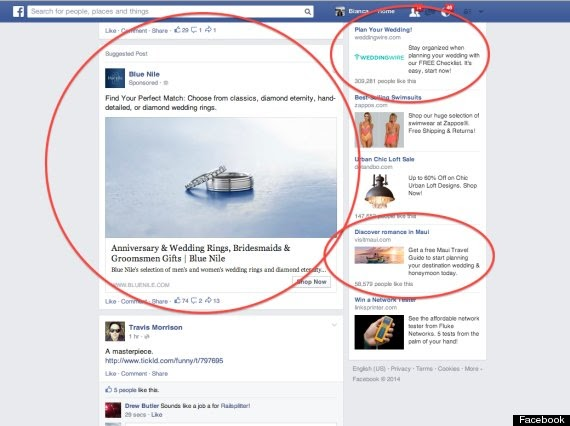targeting specifics on facebook