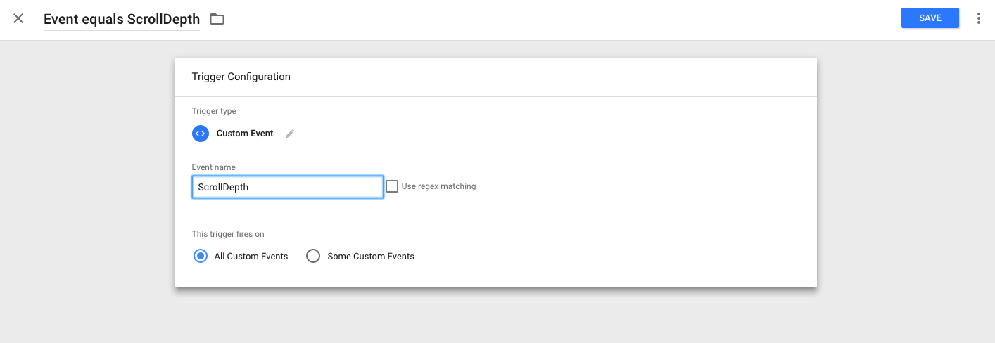 Scroll Depth Google Tag Manager