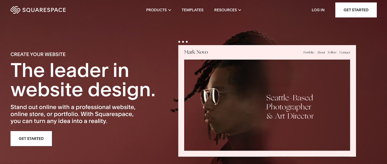 Clean and modern works well for a web design agency.