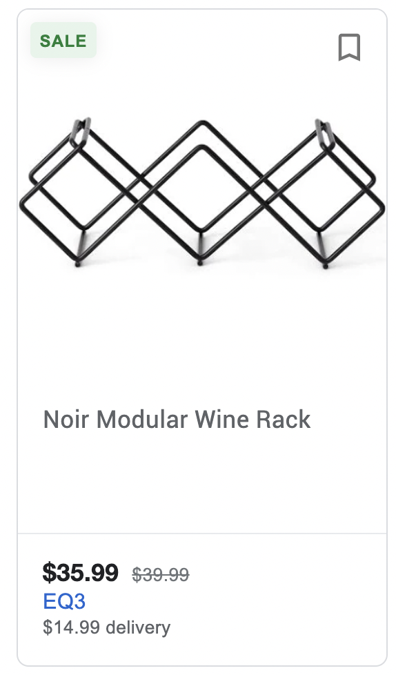 Product title too short: This title is missing the brand, material, and how many bottles it holds