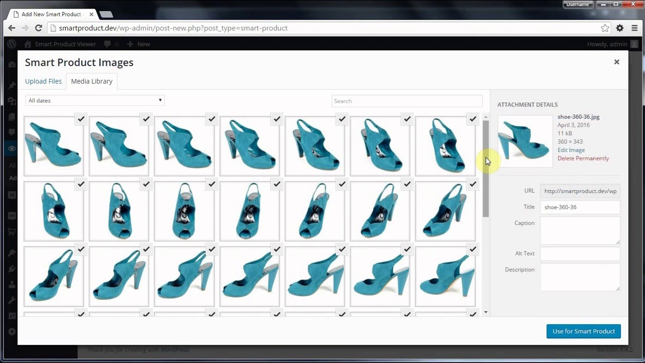 Here's an example of a dynamic product view, courtesy of Smart Products